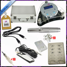 2015 newest Eyebrow permanent makeup pen digital tattoo machine kits