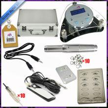 2015 mais nova Sobrancelha permanente maquiagem caneta kits digitais máquina de tatuagem