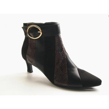 Hot Seller Ladies Boot Thin Heel Ankle Boots