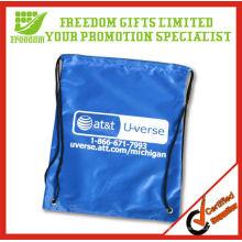 Logotipo de qualidade superior impresso Draw String Bag