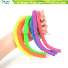 TPR Stretchy String Sensorial Fidget Brinquedos Terapia Autismo Stress para Crianças Adulto