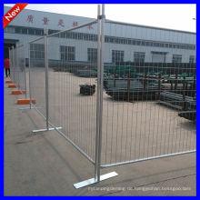DM hochwertiger tragbarer Zaun mit quadratischem Rohr in der chinesischen Fabrik hergestellt