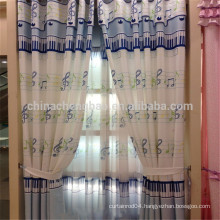Softtextile Sun Block Music Note Fabric Curtain