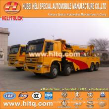 SINOTRUK HOWO 8x4 30 ton Heavy Duty Rotator Tow Truck Wrack LKW