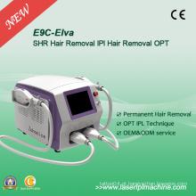 Luz intensa do pulso Shr Elight máquina da remoção do cabelo E9c