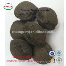 Vente chaude de haute qualité Ferro Manganèse et Silicon Manganese Ball Fabricants