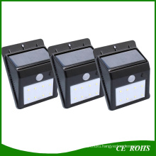 IP65 LED Solar Yard Wall Lights Sound Sensor Spot Light