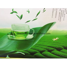Chá verde do gosto natural