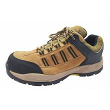Nubuck Leather MD Sole Safety Shoes