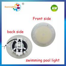 IP68 PC subacuático lleno de piscina luz subacuática