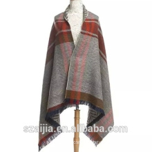 Ladies stripe long scarf ladies poncho