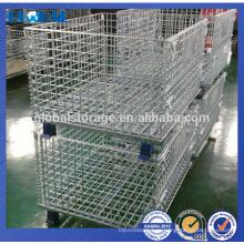 Chine fabricant acier pliable transport fil maille conteneur