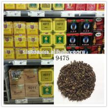 Pólvora chá verde 9475 preço chá sultan mistura chá OEM em tipo bola de huangshan songluo