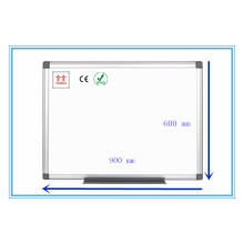 Twinco Whiteboard Stand Emaille Whiteboard Aluminium Rahmen Quadrat Whiteboard 900 * 600mm