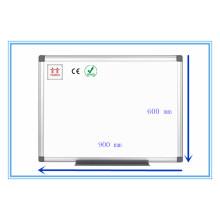 Twinco Whiteboard Stand Esmalte Pizarra Blanca Aluminio Marco Cuadrado Pizarra Blanca 900 * 600mm