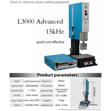 Ultrasonic Welding Machine for Plastic Objects