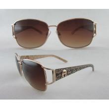 Солнцезащитные очки с пластиковыми рамками и металлическими храмами Новые для 222450