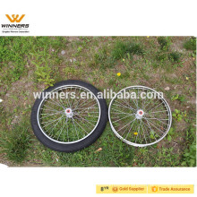 Jog Cart Wheel 2.50-18 18''x2.5'',spoke wheel