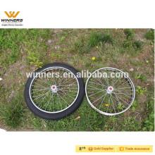Jog Cart Wheel 2.50-18 18''x2.5 '', roda de raios