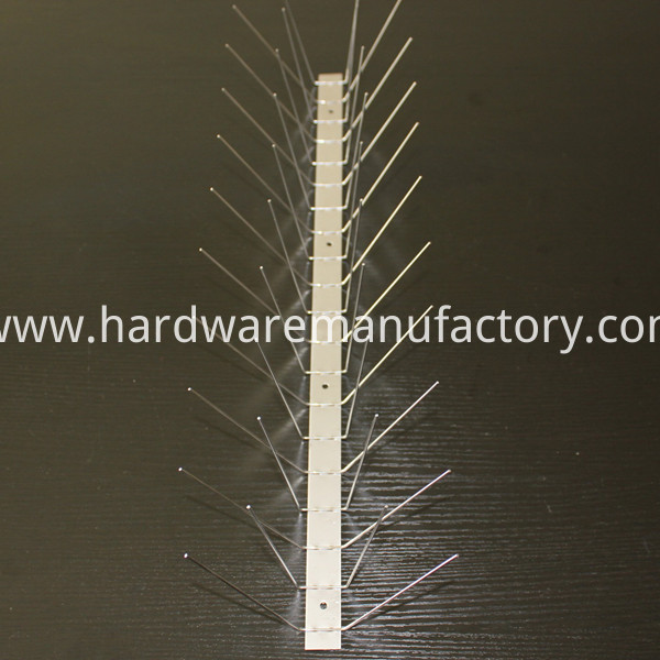Stainless Steel Pigeon Spikes for Commercial Application