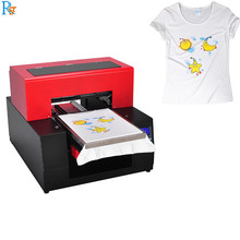 Flatbed lege T-shirts printer machine