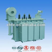 Transformador de energía inmerso en aceite de 30kV