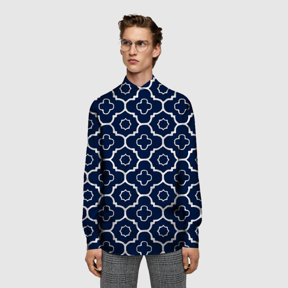 Digital Printing Fabric Shirt