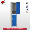 Metal Handle 2 Tier Door Steel Locker