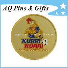 Gold Metal Badge with Soft Enamel (badge-059)