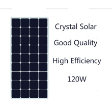2017 Hot Selling Quality Assurance 120W Semi Flexible Solar Panel