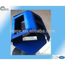 High quality molded blue color plastic box vendors