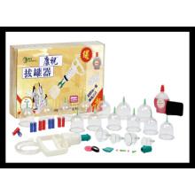 Hochwertiges Schröpf-Set (C-1-14C) Akupunktur