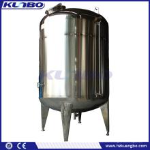 Réservoir de refroidissement de stockage de lait de double couche de KUNBO SUS 304