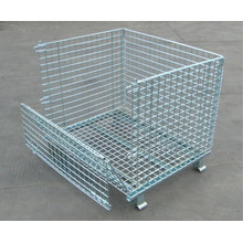 Sistema de estanterías para paletas en rack de almacenamiento de almacén