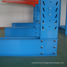 cantilever rack with roof design/warehouse heavy duty timber storage