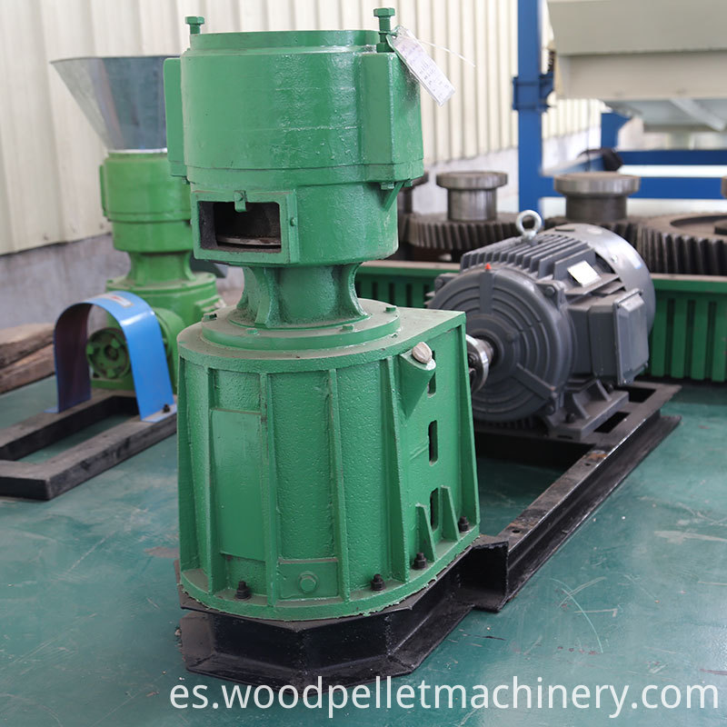 small wood pellet machine