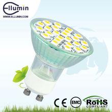 Le CE ROHS GU10 220 volts a mené des lumières