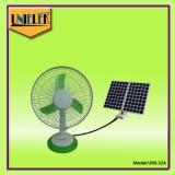 Reasonable price portable rechargeable table fan powerful wind 12v solar dc fan