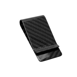 carbon fiber   product money clip