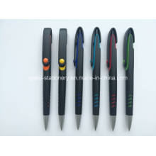 Black Promotion Plastic Ball Pen (P1001C)
