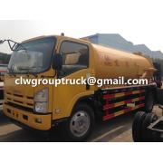 ISUZU 5-12CBM Vacuum Sewage Suction Truck