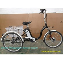 Electric Assist Trike PAS Tricycle Pedelec Adult Tricycle Moped Trike (ETR010)