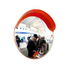 60cm outdoor convex mirror round plastic PC lens for road corner
