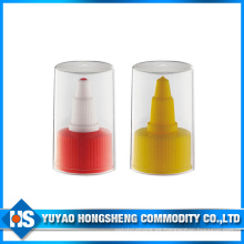 Abrebotellas de plástico con tapa giratoria con cubierta UV