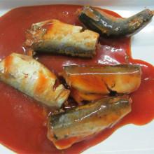 Maquereau en conserve à la sauce tomate chaude 425g