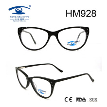 Cate Shape High Quality Acetate Optical Eyewear Eyeglasses (HM928)