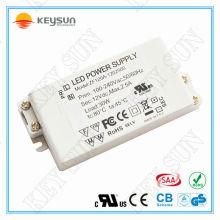 Fonte de alimentação universal de 30W 12 v Adaptador de energia de 2,5 A com certificação UL CE 3C KC SAA