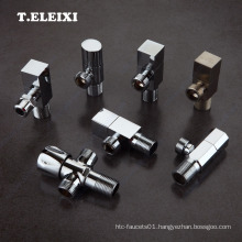 90 degree toilet water inlet control brass angle valve