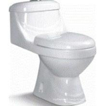 Salle de bain Céramique Washdown One Piece Toilet (6514)