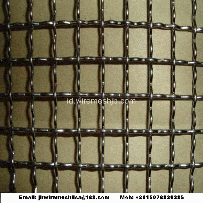 304 Stainless Steel Wire Mesh Berkerut